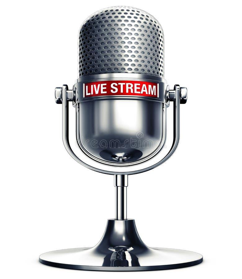 Live stream royalty free stock photo
