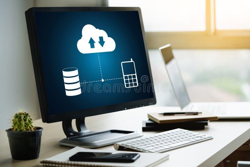 LIVE STREAMING Backup Download Computing Digital Data transferring , STREAMING Download stock photo