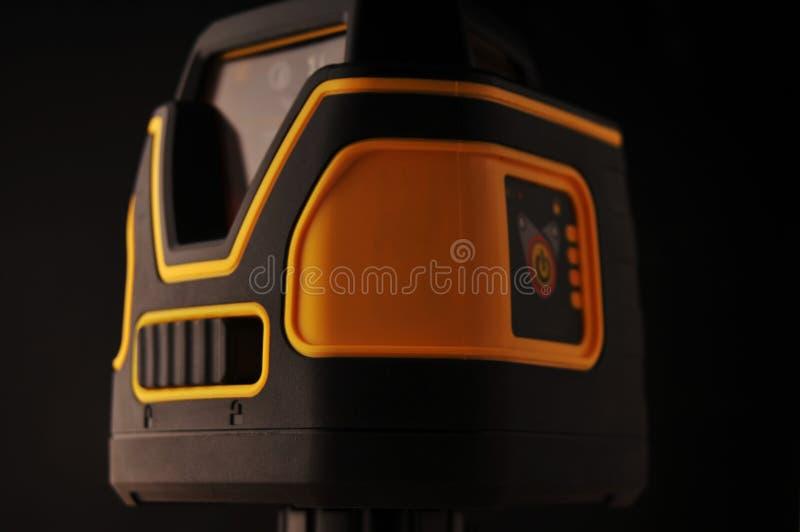 Livello del laser del dispositivo fotografie stock libere da diritti