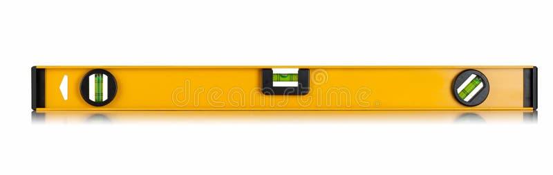Livello giallo della costruzione fotografia stock