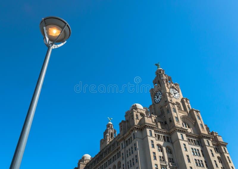 Download Liver Building stock photo. Image of streetlight, landmark - 40443730