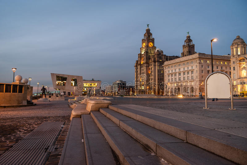 Liver Building royalty free stock photography