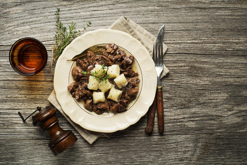 Liver food stock photography