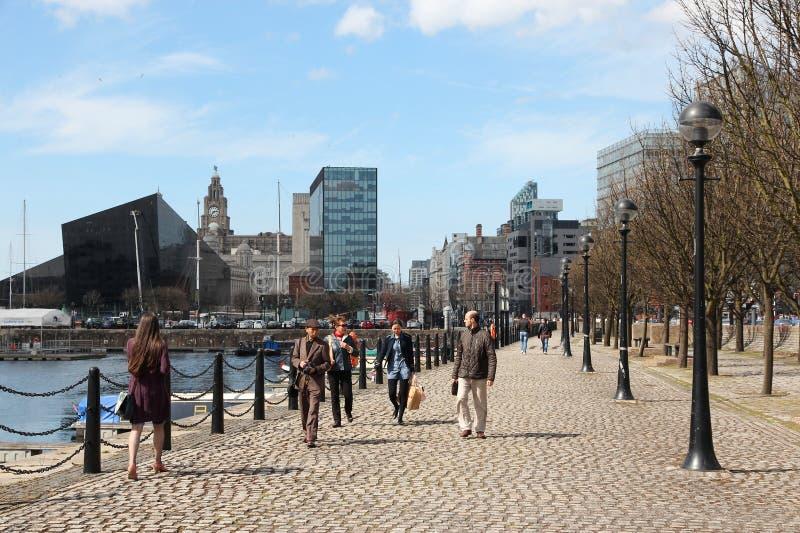 Liverpool fotografie stock libere da diritti