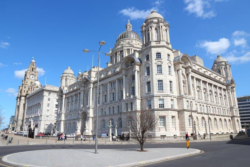 Liverpool royaltyfria foton