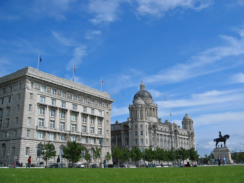 Liverpool royalty-vrije stock foto's