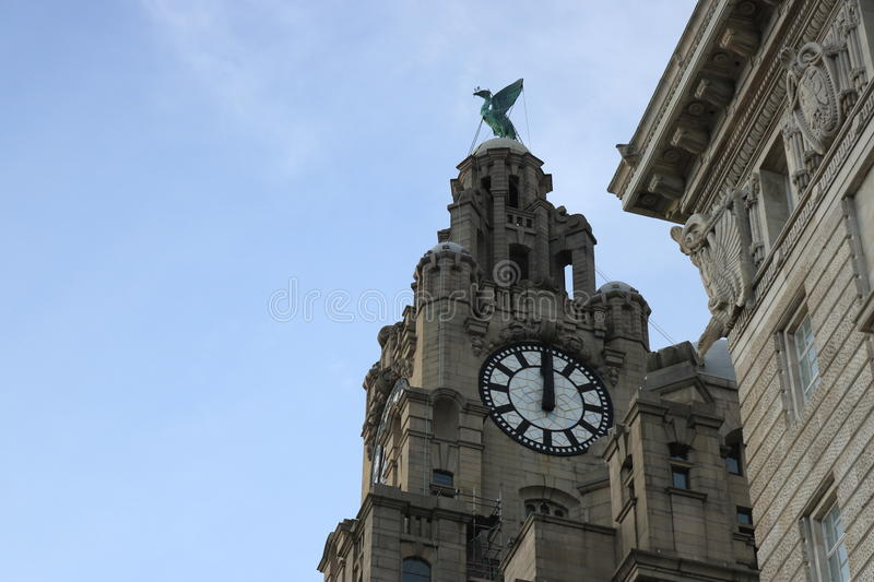 liverpool photographie stock