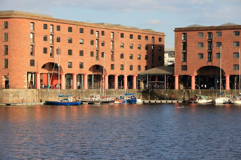 Liverpool Albert Dock stock foto