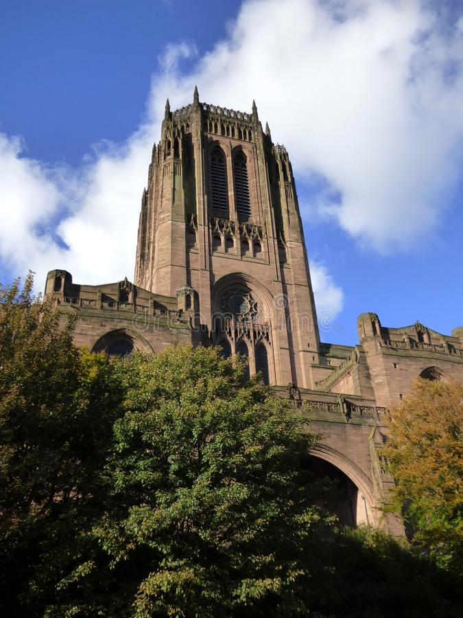 Liverpool Anglican Cathedral stock images