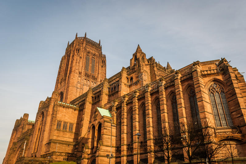 Liverpool Anglican Cathedral royalty free stock photos
