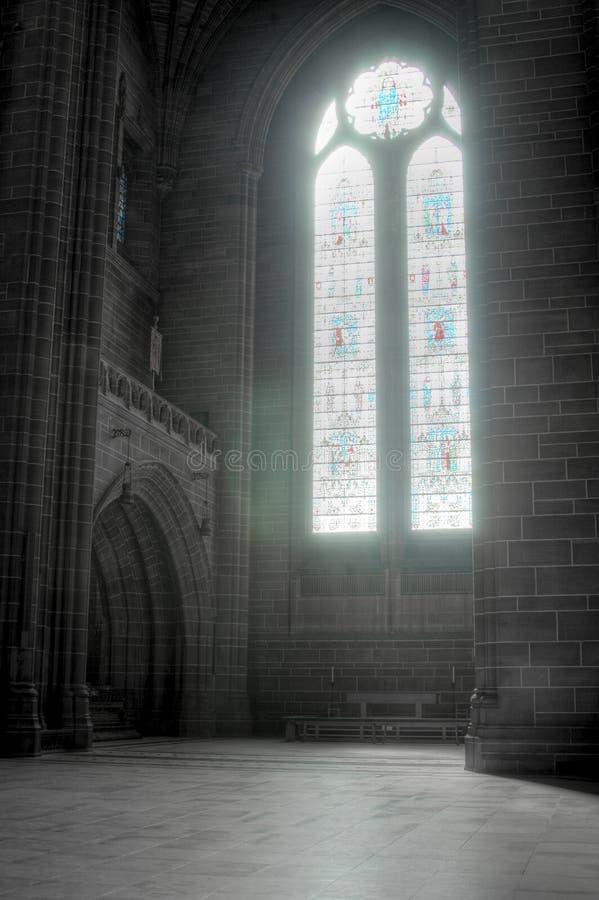 Liverpool anglican katedra zdjęcie stock