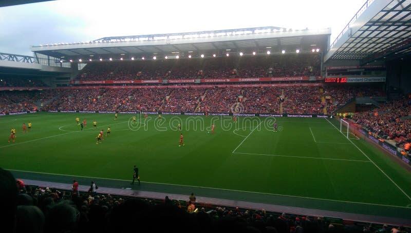 Liverpool 4 Borussia Dortmund 0 stock photos