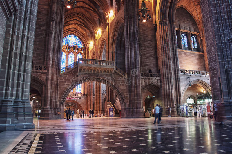 Liverpool Cathedral stock photos