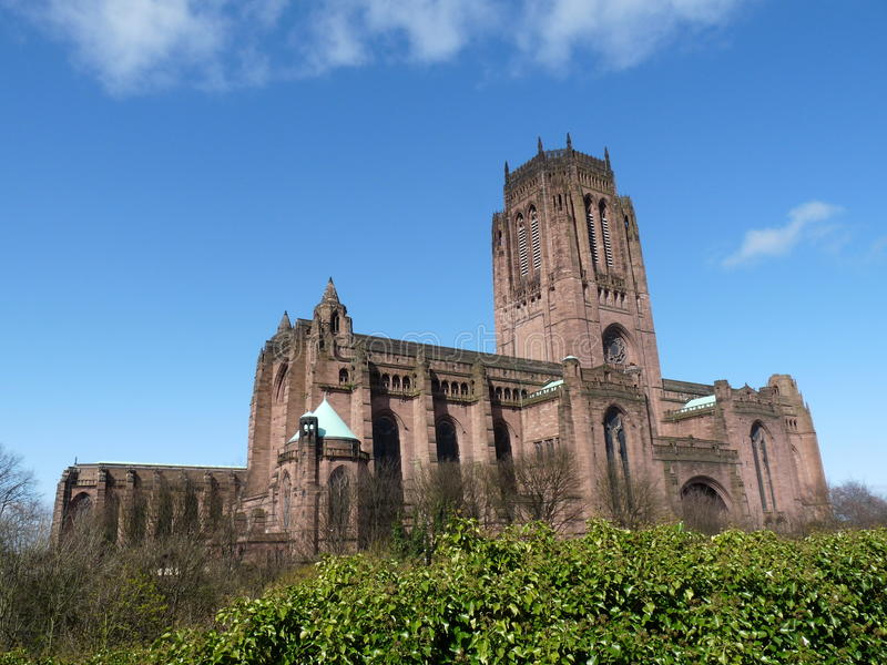 Liverpool Catherdal imágenes de archivo libres de regalías