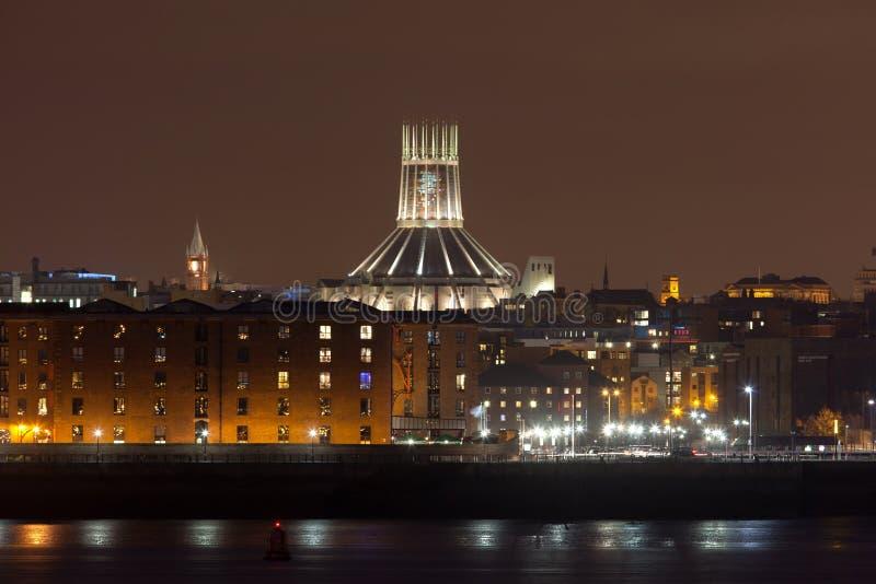 Liverpool catherdral fotos de archivo libres de regalías