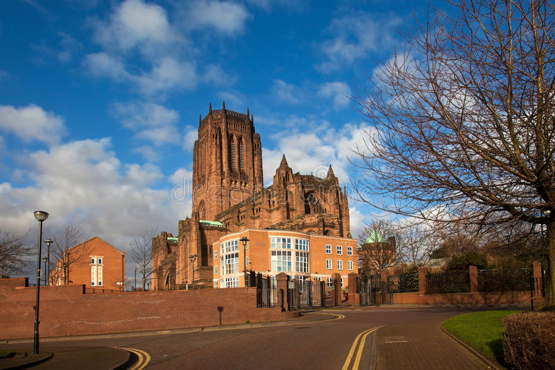 Download Liverpool Catherdral stock photo. Image of buildings - 25822550