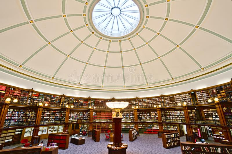 Liverpool Central Library Picton Reading Room stock photography