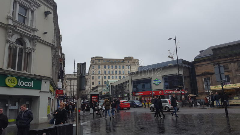 Liverpool central royalty free stock image