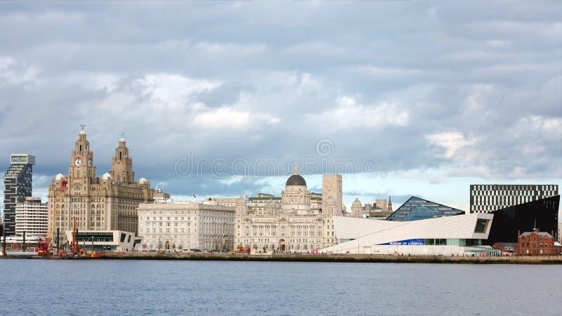 Liverpool City World Heritage Skyline