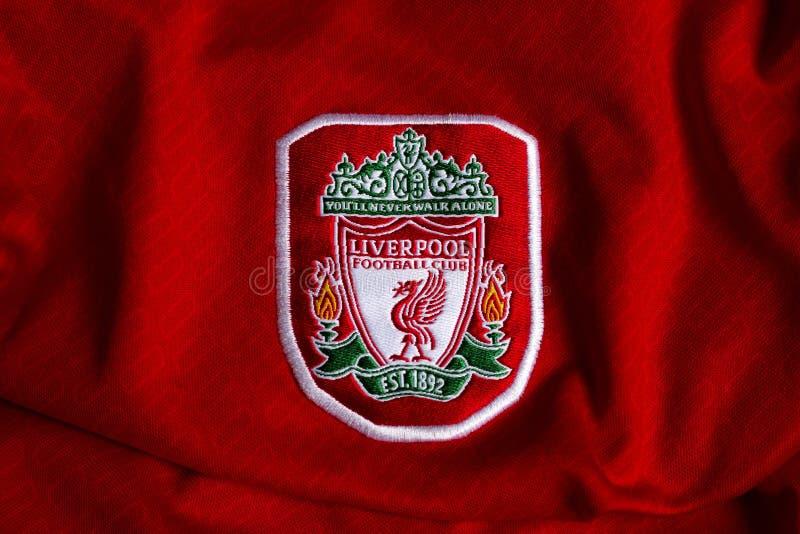 Liverpool emblemat zdjęcia stock