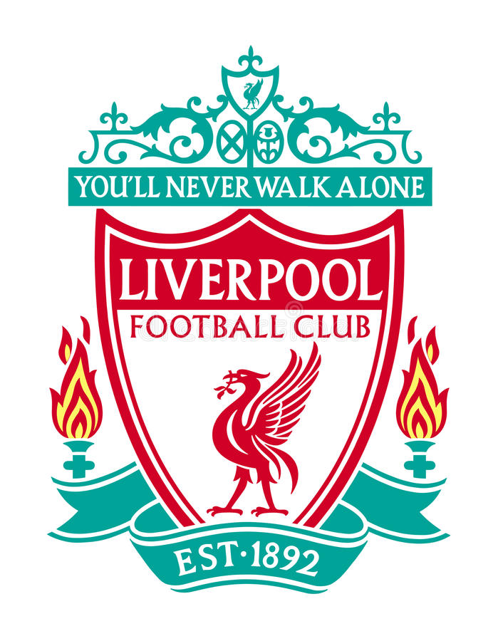 Liverpool F.C. Liverpool, England Feb 20, 2017: Vector illustration of Liverpool F.C. logo on white background