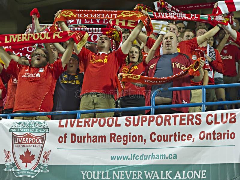 Liverpool Fan FC zdjęcie stock