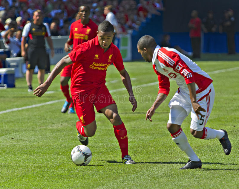 Download Liverpool FC editorial photography. Image of players - 25850927