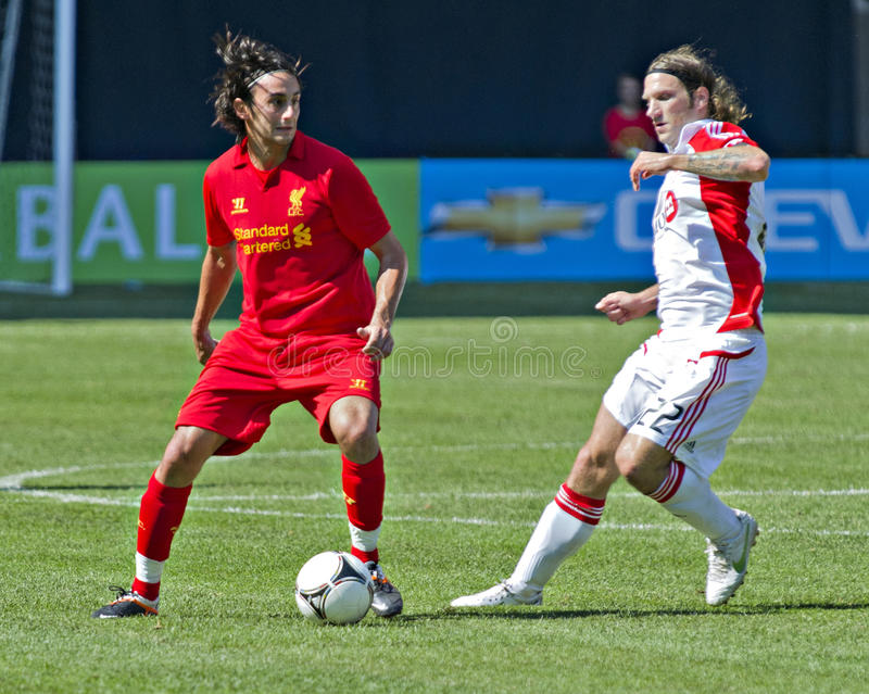 Liverpool FC fotografia stock