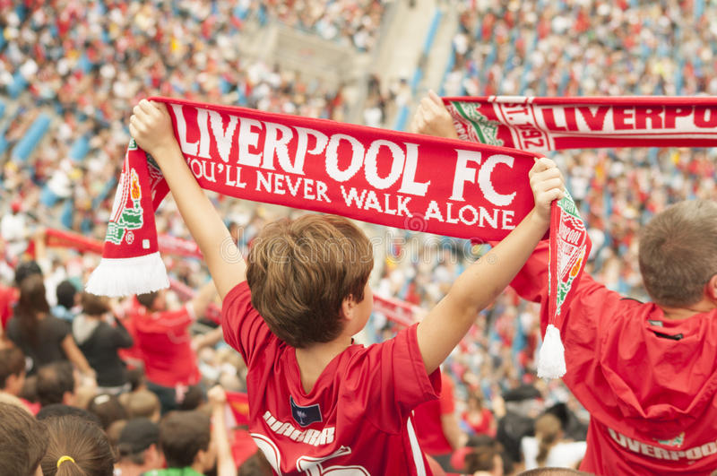 Liverpool FC imágenes de archivo libres de regalías