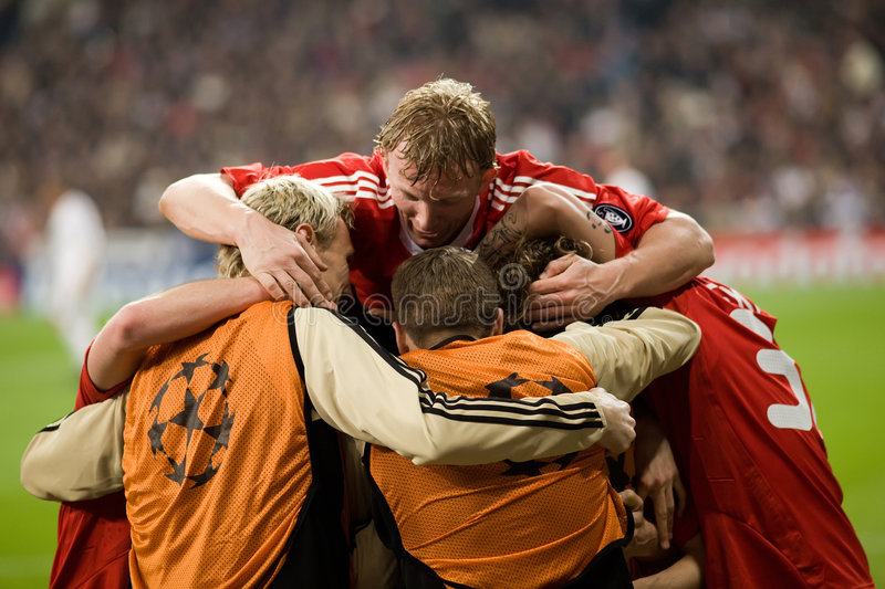 Download Liverpool Goal Celebration 2 Editorial Stock Photo - Image: 8322163