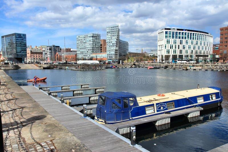 Liverpool het UK royalty-vrije stock foto's