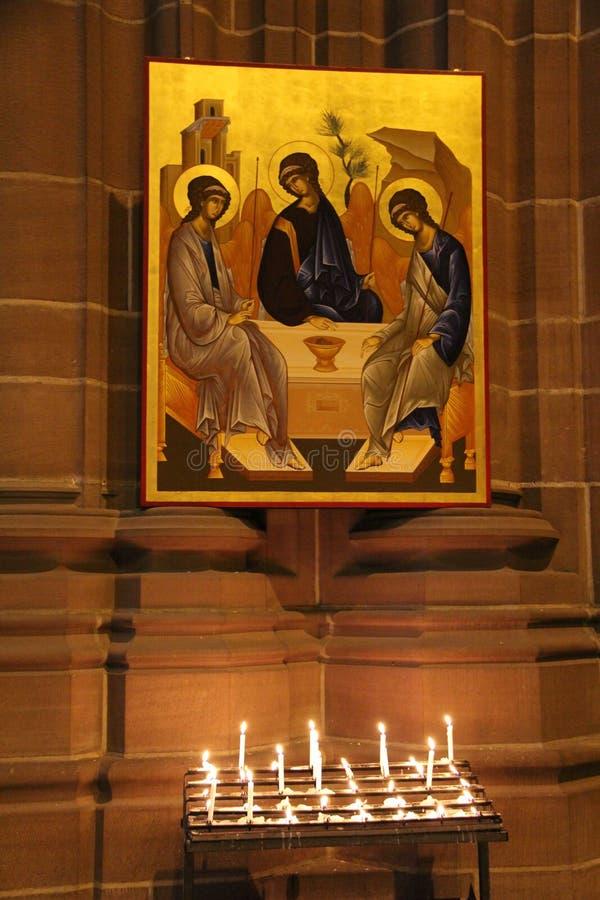 Liverpool katedra fotografia stock