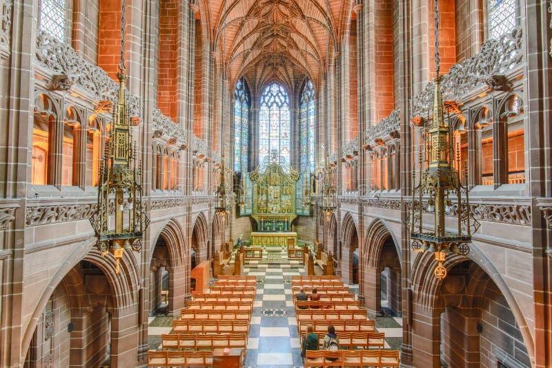 Liverpool-Kathedrale stockbilder