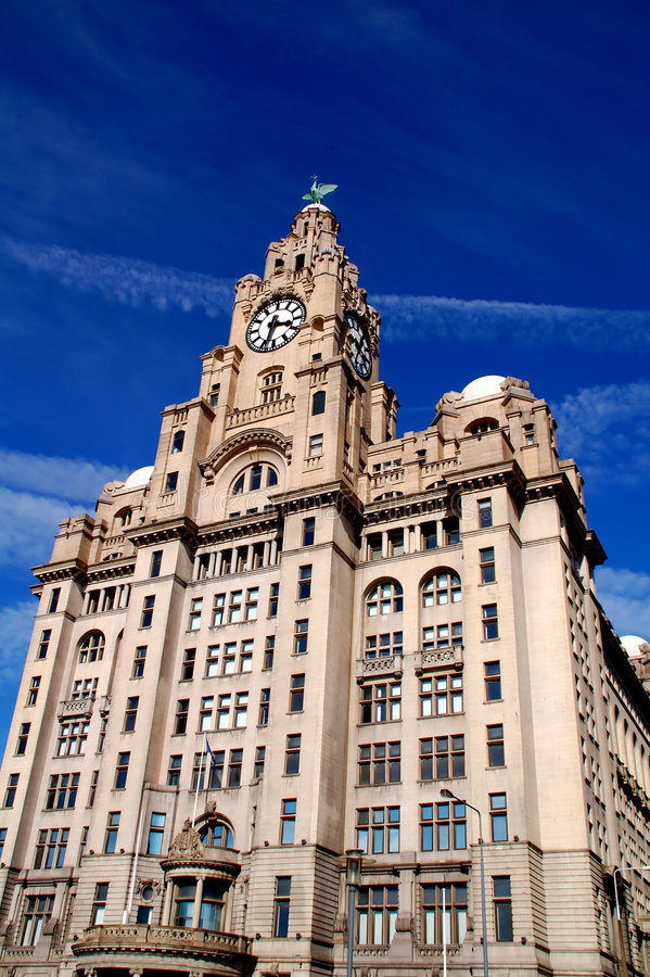Download Liverpool Liver Building stock photo. Image of building - 2205628