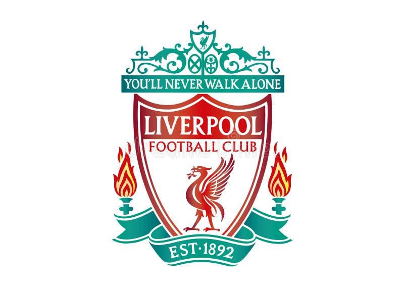 Liverpool logo ilustracji