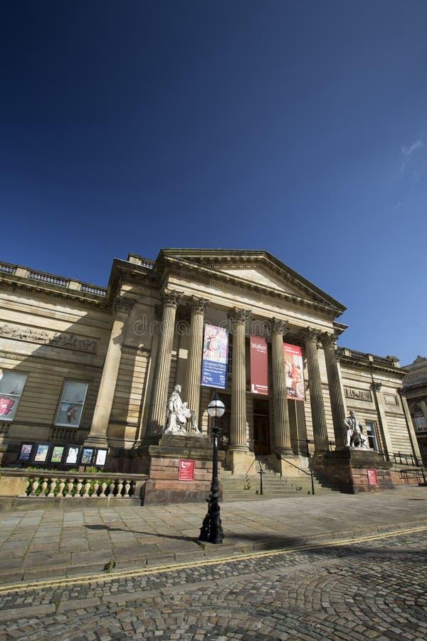 Liverpool, Merseyside Juni 2014 externe Ansicht der Fassade und Eingang Walker Art Gallerys stockfotos