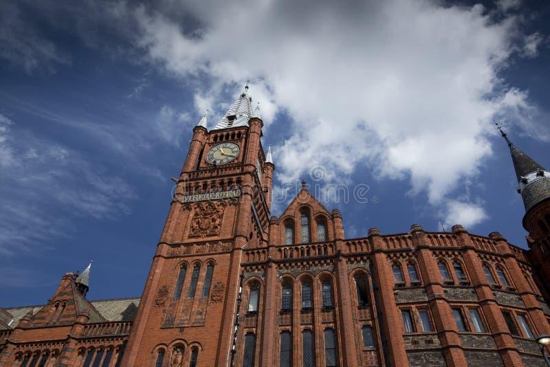 Liverpool Merseyside, UK - 24th Juni 2014, Victoria Gallery & museum - Victoria Building, universitet av Liverpool arkivfoton