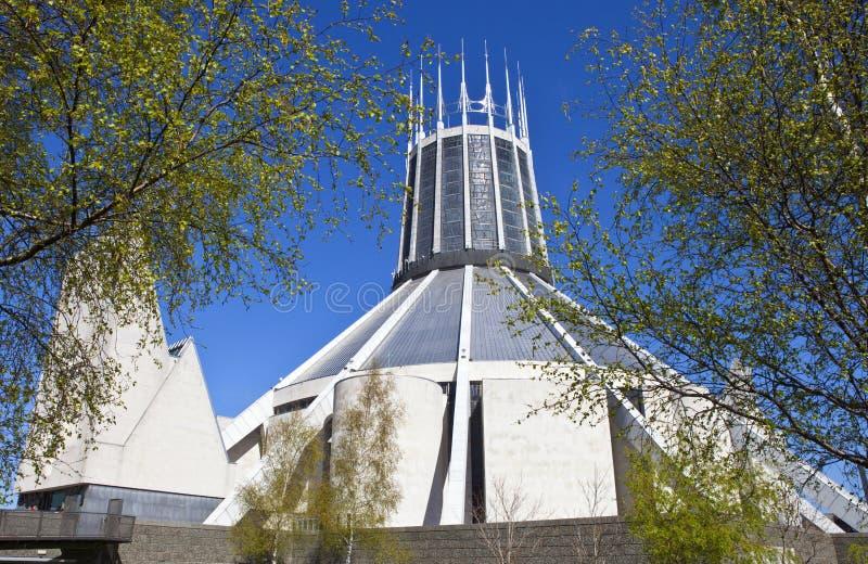 Liverpool metropolita katedra obraz stock