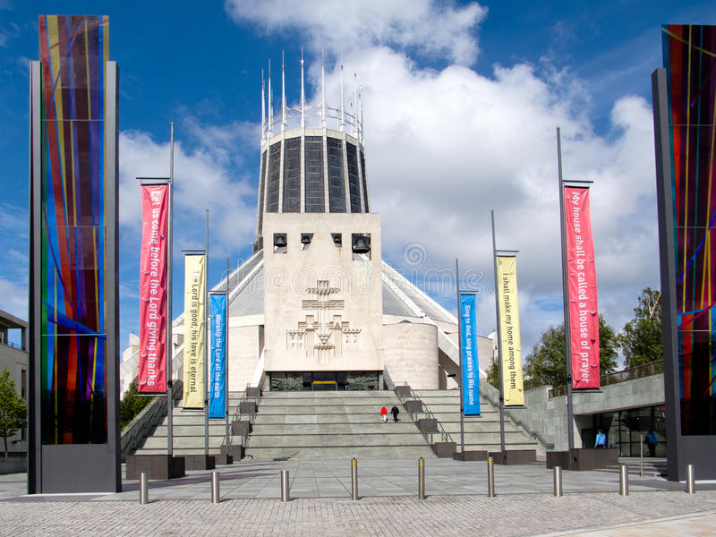 Liverpool Metropolitan Cathedral Editorial Stock Photo