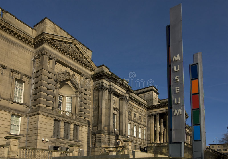 Liverpool-Museum lizenzfreies stockfoto