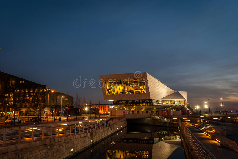 Liverpool Museum stock photography