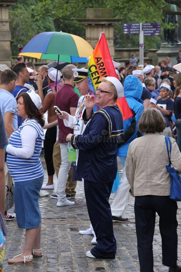Liverpool pride parade royalty free stock photos