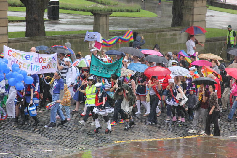 Download Liverpool pride parade editorial photo. Image of naked - 26048986