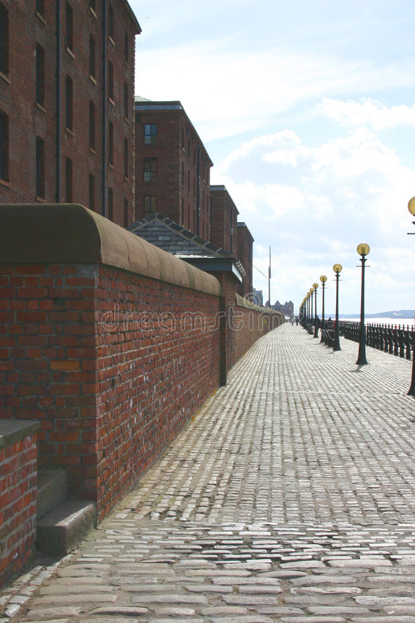 Liverpool Promenade royalty free stock photo