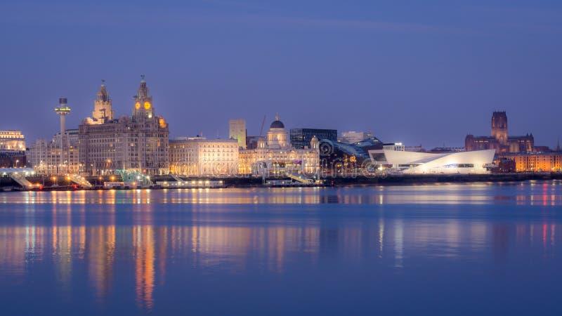 Liverpool-Skyline lizenzfreies stockbild