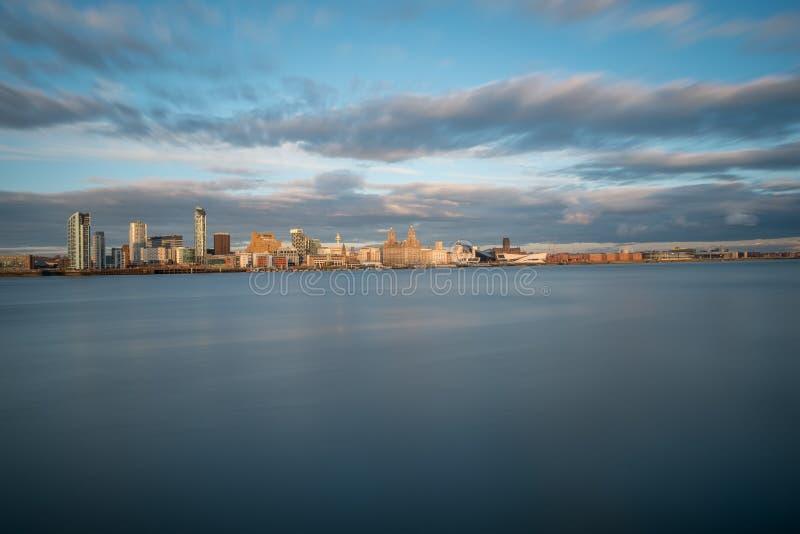 Liverpool-Skyline lizenzfreie stockfotos