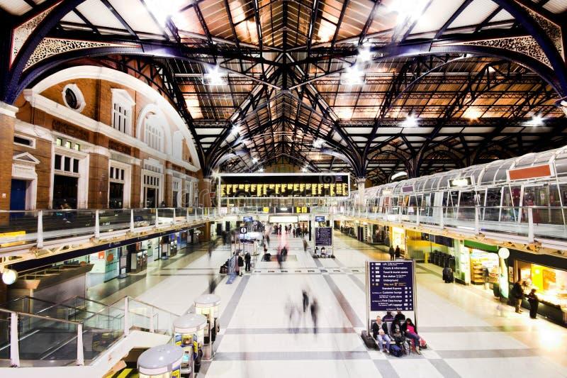 liverpool stationsgata arkivbild
