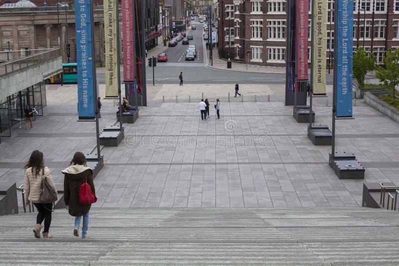 Liverpool storstads- domkyrka arkivbild
