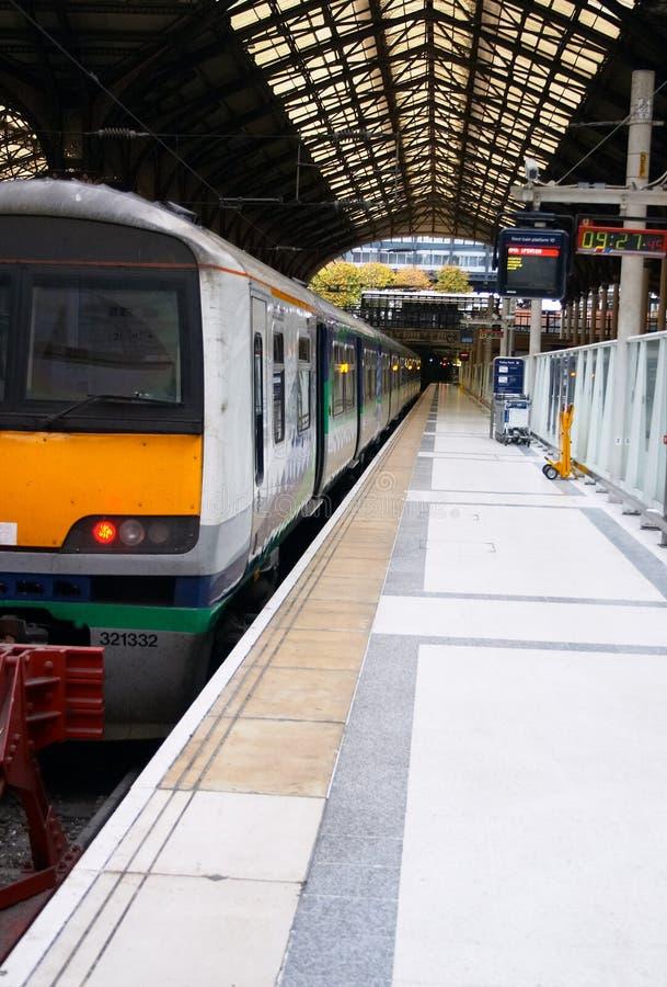 Liverpool-Straßen-Station Stockfotos