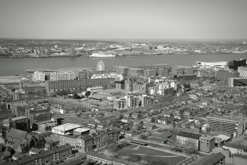 Liverpool UK royaltyfri bild